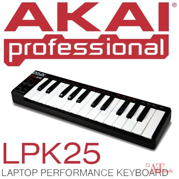AKAI LPK-25 Portable USB-MIDI controller, 25 veloc