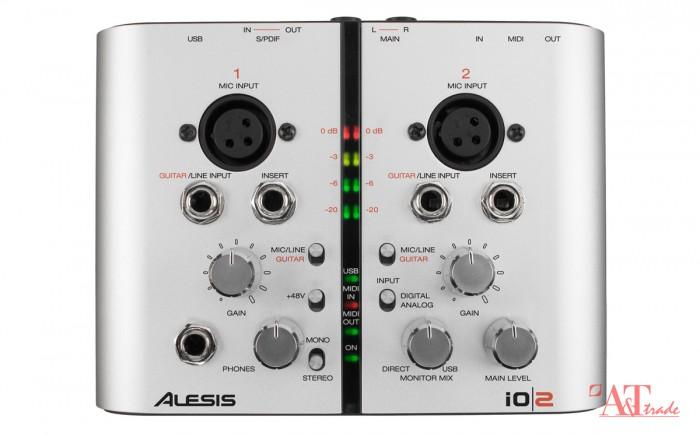 25d7bb996a6 Alesis IO2 Express 2-kanaliga USB helikaart