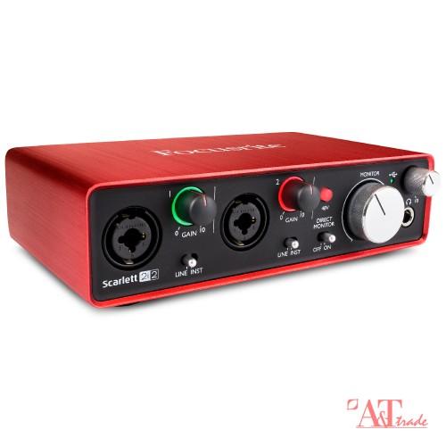 7b2ad1ebd7e Focusrite Scarlett 2i2 USB helikaart