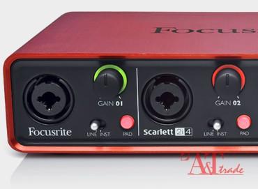 5484fb3c4af Focusrite Scarlett 2i4 USB helikaart